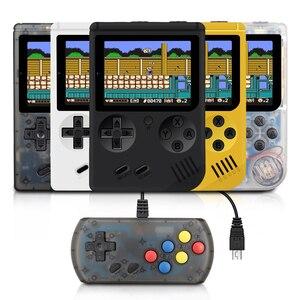 Image 1 - Tragbare Kinder Retro Mini Handheld Spiel Spieler Gebaut in 168 Spiele 3,0 Zoll 8 Bit Klassische Video Handheld Spiel konsole