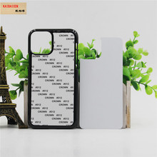 For Iphone 11/11 pro/11 pro max Case TPU+PC Rubber soft 2D Sublimation Blank Heat transfer Phone Cover Case