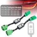 Новая пара индикатор динамического сигнала поворота светодиодный задний светильник Дополнительный провод модуля для Audi A3 8V левый и правый ...