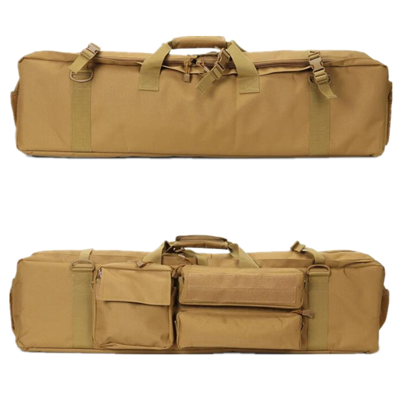 Case de Arma Caça ao ar Novo Rifle Airsoft Tático Macio Mochila Militar Sniper Tiro Arma Carry Bolsas Case Livre Acessórios