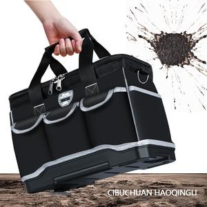 """Image 3 - أكياس أداة متعددة المهام حجم 13 """"16"""" 18 """"20"""" أكسفورد حقيبة ملابس أعلى واسعة الفم كهربائي مجموعة أدوات خاصة أكياس مجموعة أدوات مقاوم للماء"""