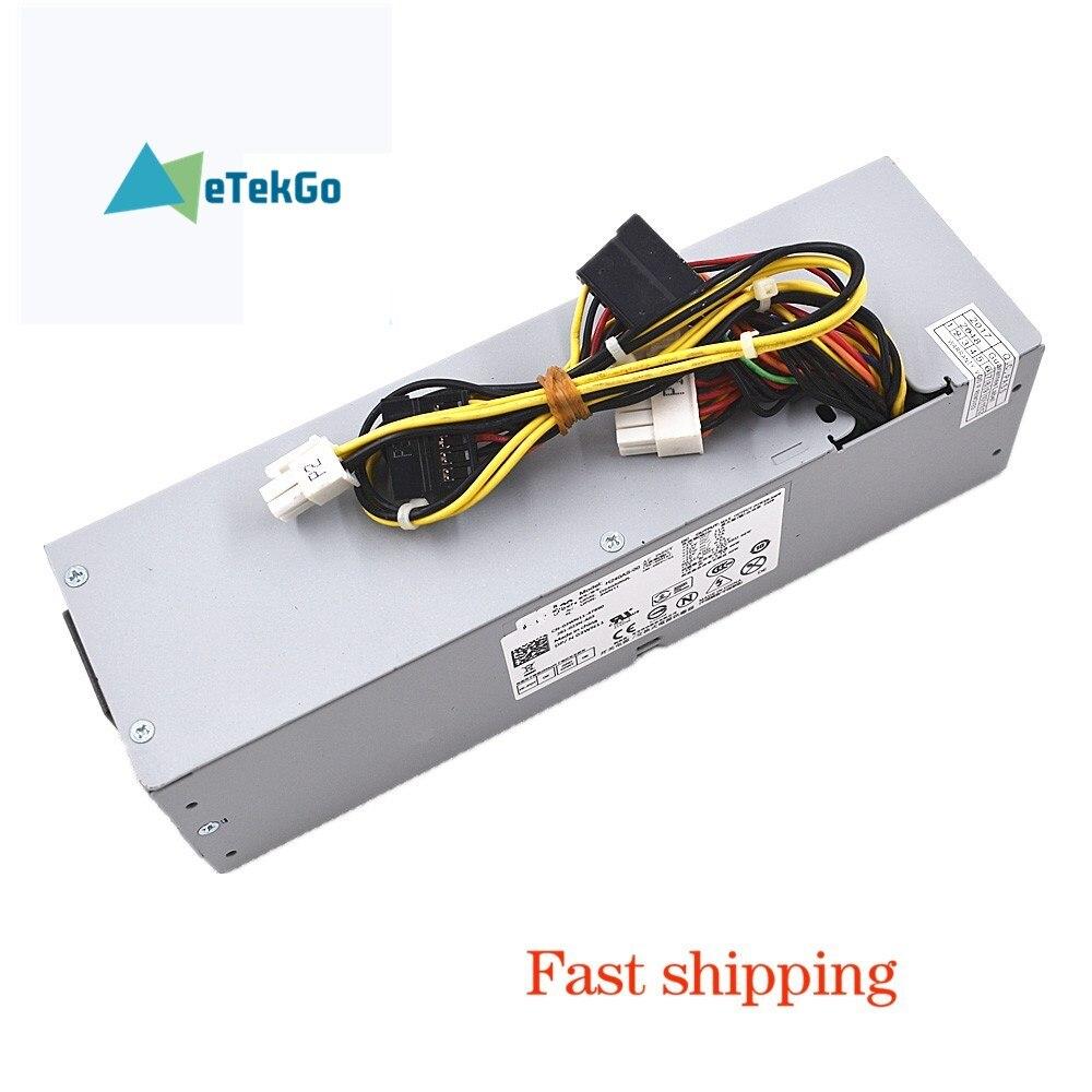 New Power Supply For DELL OPTIPLEX 3010 390 790 990 SFF 2TXYM RV1C4 3WN11 US