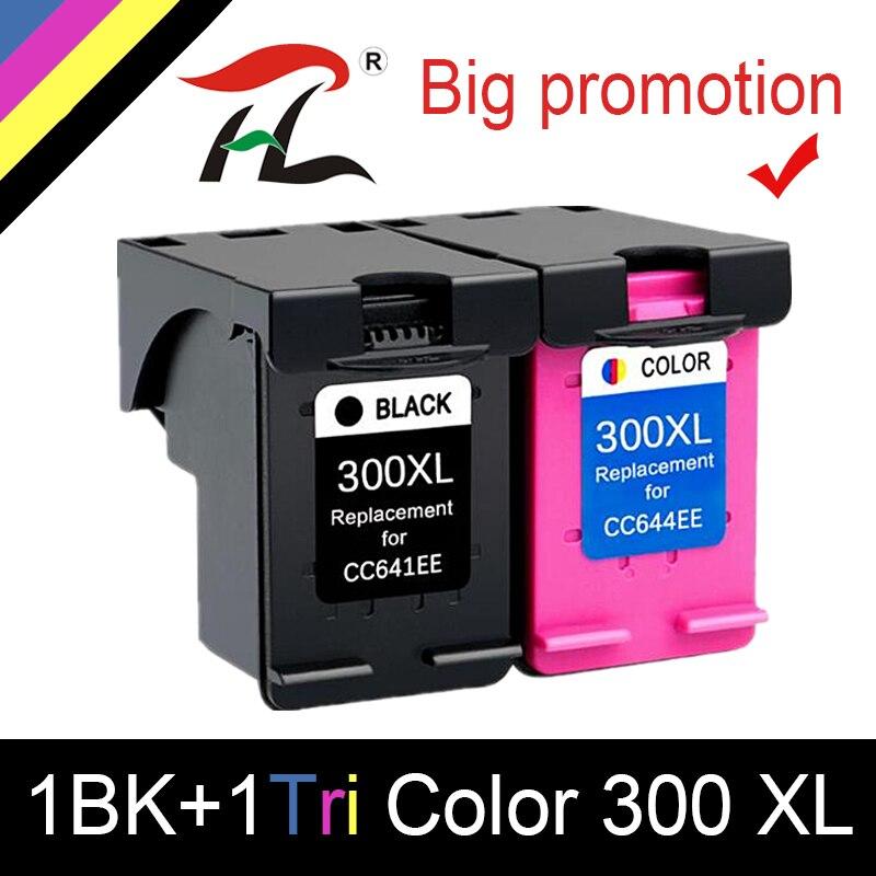 HTL 300XL Remanufactured Ink Cartridges Replacement For HP 300 For Deskjet D1660 D2560 D2660 D5560 F2420 F2480 F2492 F4210