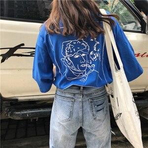 Image 4 - Джинсы Женские однотонные модные элегантные подходящие ко всему высококачественные Свободные повседневные женские в Корейском стиле для отдыха женские простые милые простые джинсы с 2020 отверстиями