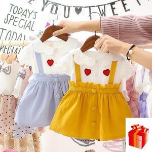 Летняя одежда для малышей; Милая Одежда для маленьких девочек 2 лет на день рождения; Детская одежда в американском стиле; Великолепные белы...