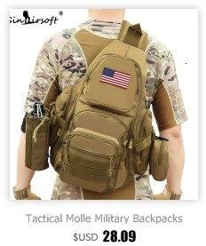 prova d900água do exército ombro militar caça