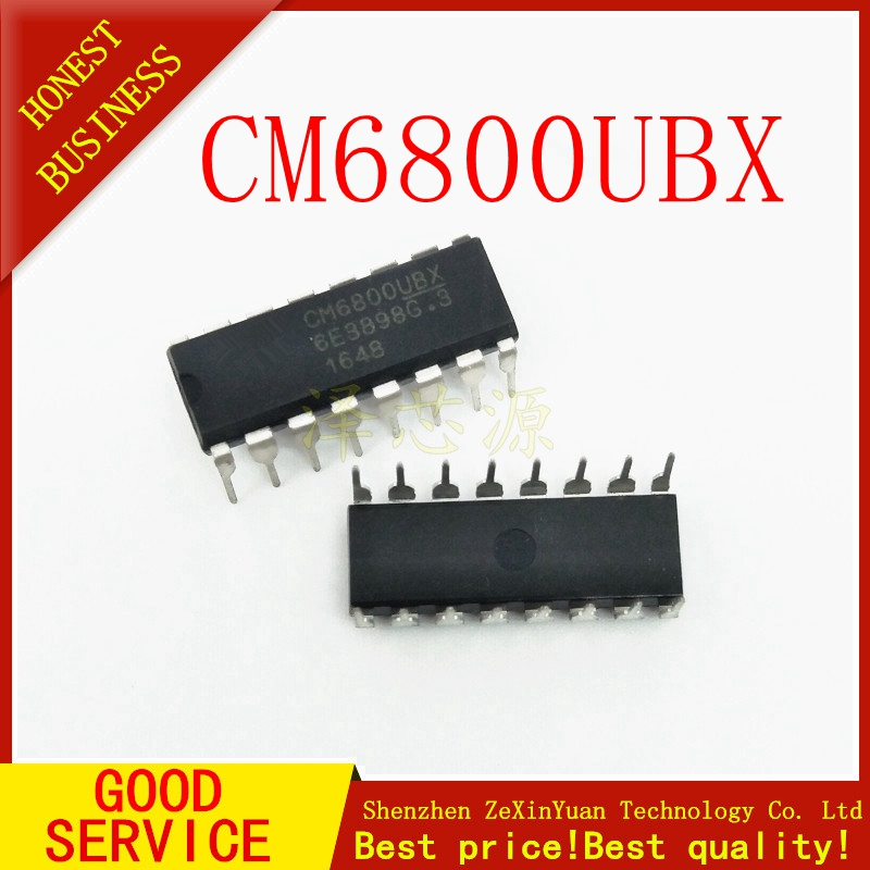 10PCS/LOT CM6800UBX DIP-16  Original
