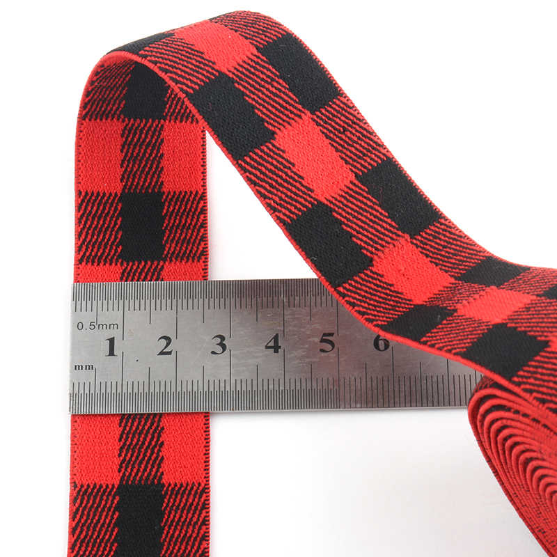 25mm faixa de borracha treliça camuflagem listra faixa elástica fita elástica para costura guarnição faixa cintura acessório do vestuário 1 metro