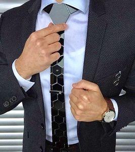 Image 5 - أنيق ماتي الأسود مسدس العلاقات أنيق الرجال ربطات العنق 20 ألوان فاخرة Hexties 5 سنتيمتر هدية صندوق اللباس الرسمي الإكسسوارات تصميم فريد