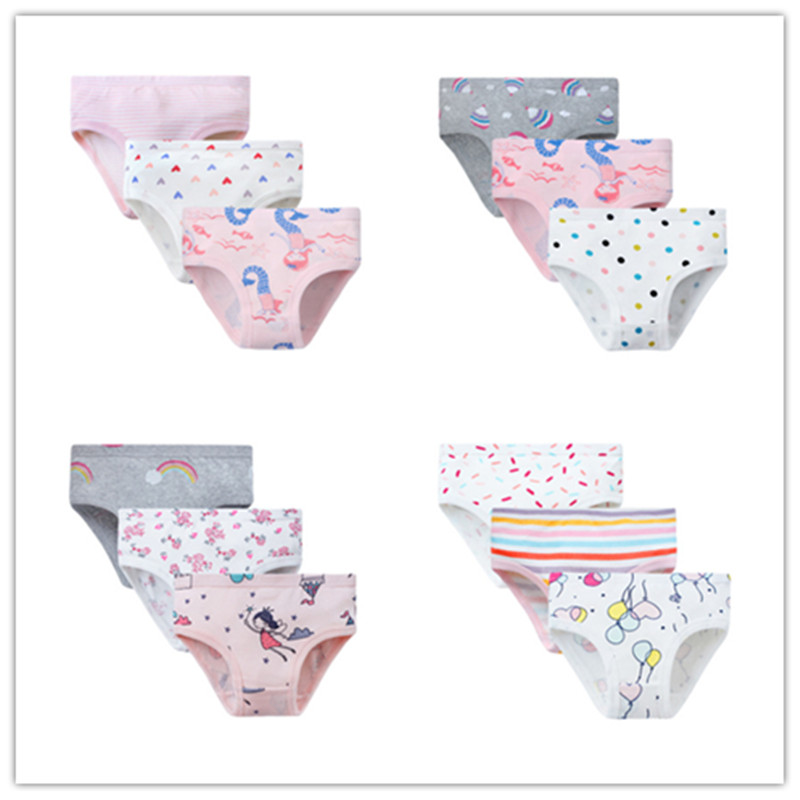 VIDMID New COTTON Kids Underwear Panties Kids Panties 3-8 Years Girls Panties Briefs Comfortab Panties Underwear Clothes 7081 09