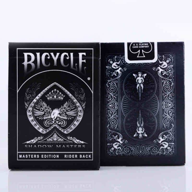 1 Deck Bicycle Cards Shadow Masters Ellusionis Bicycle Playing Cards Regular Bicycle Deck Rider Back Magic Trick Magic Props