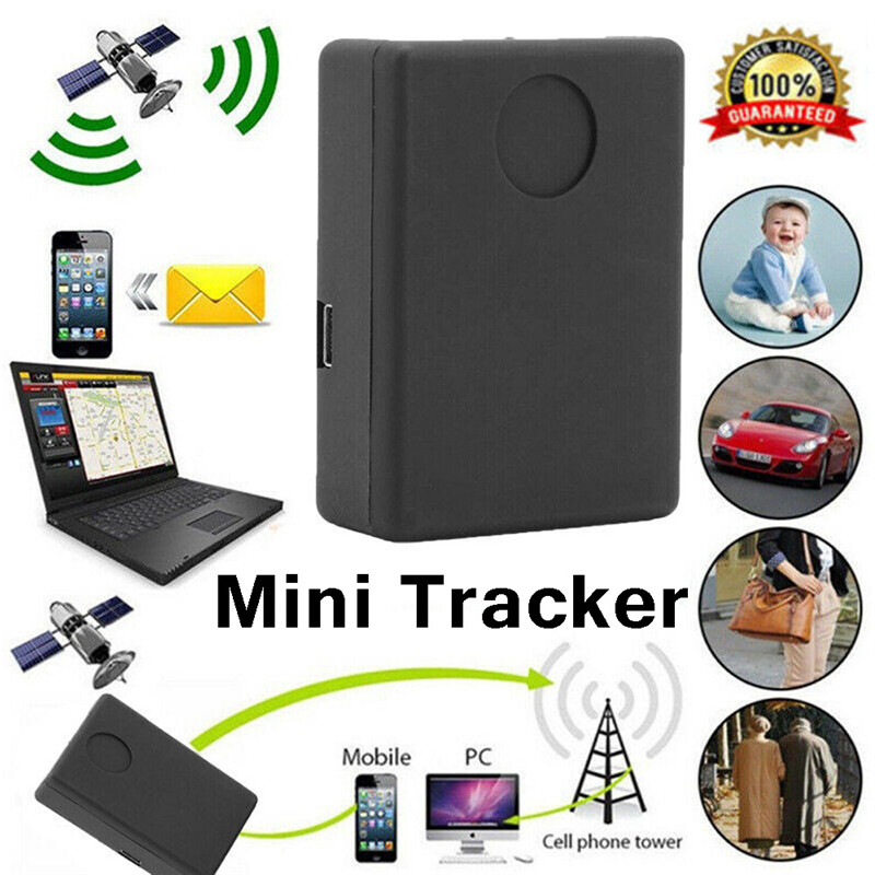 Portable GPS Tracker Locator Room Bug Listening Security Surveillance Device - Hear Live Conversations