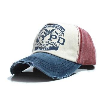 NEW 6  colors cotton Vintage Snapback Cap adjustable hat Unisex Baseball Winter Hat - discount item  22% OFF Hats & Caps