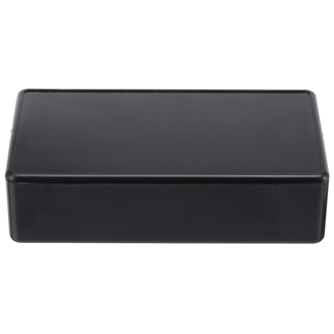 Black Waterproof Enclosure Box Plastic Electronic Instrument Project Case 4Sizes For Holding Circuit Board