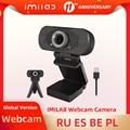 IMILAB 1080P HD веб-камера корпоративного класса, камера со встроенными двойными микрофонами, умная USB веб-камера, подключи и работай для настольны...