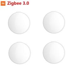 Xiaomi Mijia חכם אור חיישן Zigbee 3.0 אור זיהוי אינטליגנטי הצמדת עמיד למים בשימוש עם חכם רב מצב Gateway