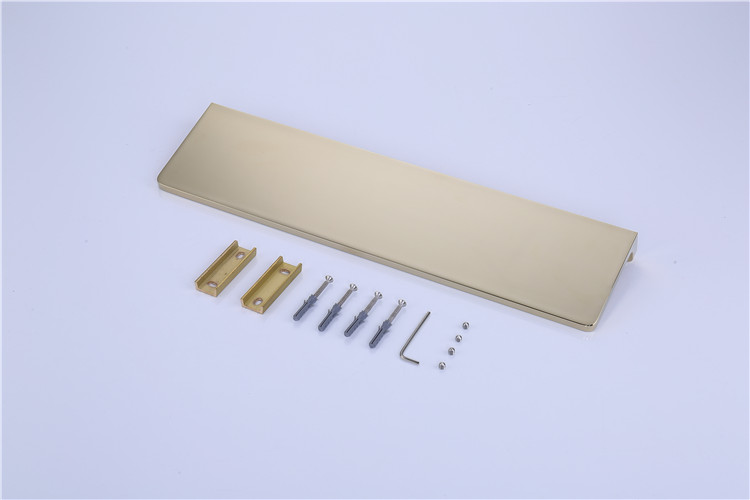 bathroom shower shelves shampoo holder sqaure Bathroom solid brass gold Accessories bath hardware - 6