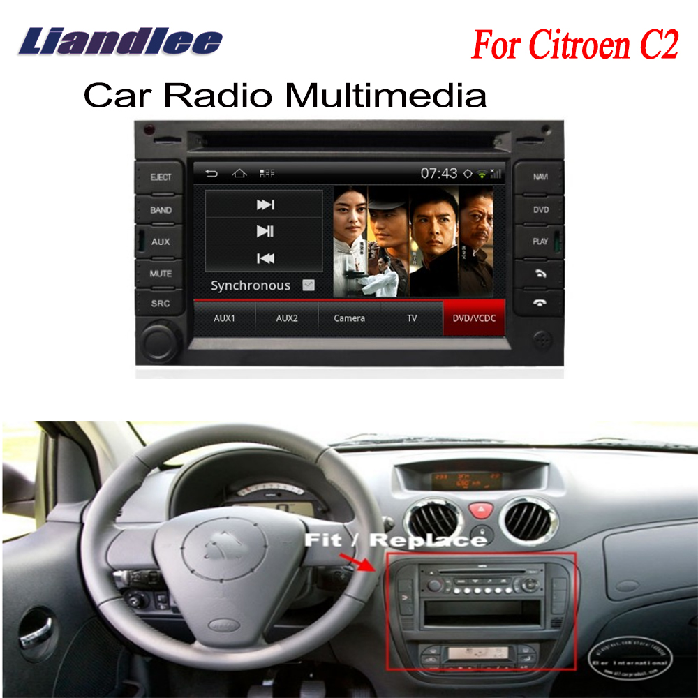 Car Android GPS Navigation Radio For Citroen C2 2003~2009 TV DVD Player Audio Video Stereo Multimedia System image