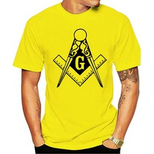 2021 moda 100% algodão t-camisa da rua da forma dos illuminati de freemason do masonic