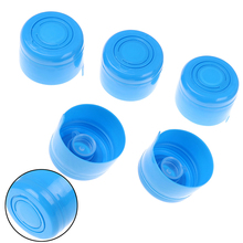 Water-Bottle Lids Replacemet Plastic Reusable 5pcs Snap on Non-Spill