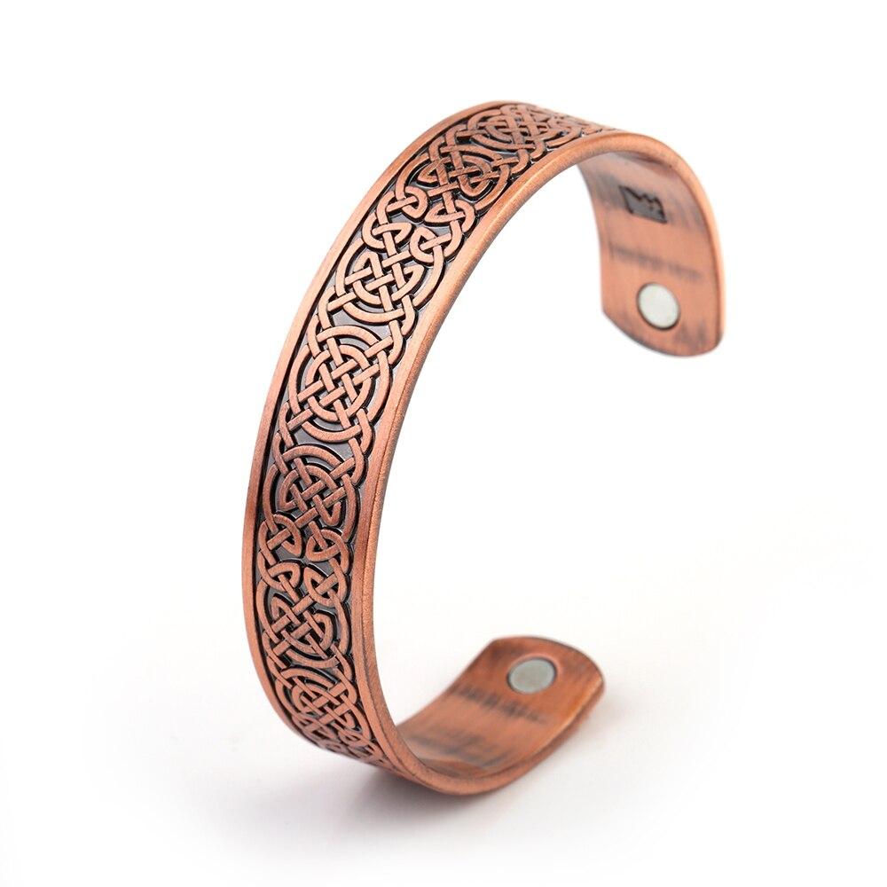 Bracelet viking magnetique contre symptômes Migraines Fatigue  2