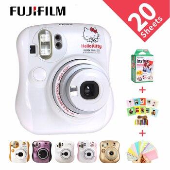 FUJIFILM Cheki Instant.Camera Kumamon Instax 25 New F.S fujifilm instax mini film camera instax mini 25 camera  - buy with discount