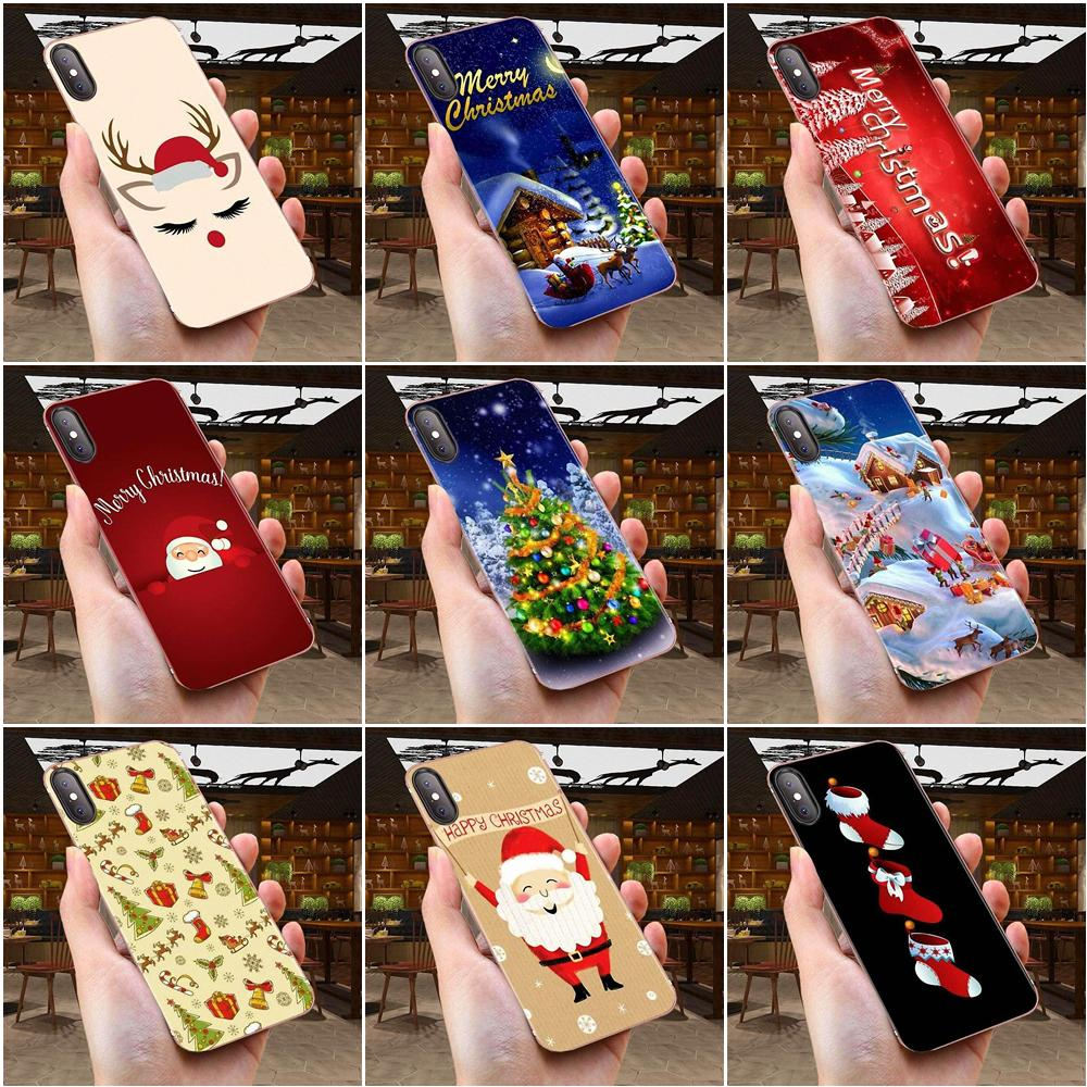 Soft Cell Phone Cover Case For Samsung Galaxy A51 A71 A81 A90 5G A91 A01 S11 S11E S20 Plus Ultra Merry Christmas Fashion image