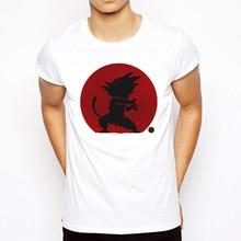 Dragon Ball T Shirt Men Summer Z super son goku Slim Fit Cosplay 3D T-Shirts vegeta Tshirt Homme