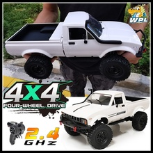 WPL C24-1 обновления 1:16 RC автомобиль 4WD радио Управление внедорожные мини автомобильный комплект RTR Рок Гусеничный электрический багги перенос...
