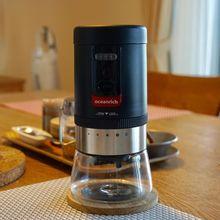 Электрическая кофемолка перезаряжаемая керамическая заусенца грубость 20 г Регулируемая 5 настроек помола подходит для видов приготовления