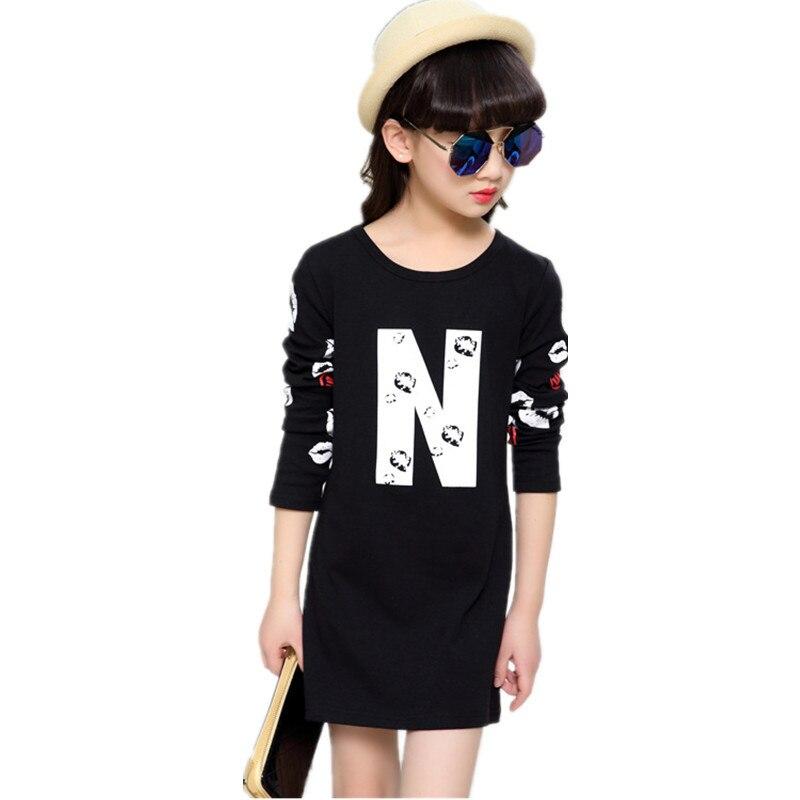 Fashion Children T Shirts Cotton Spring Autumn Tshirt Baby Girl Long Tops Tee Blusas Kids Clothes Camisa Toddler Girls T-Shirt