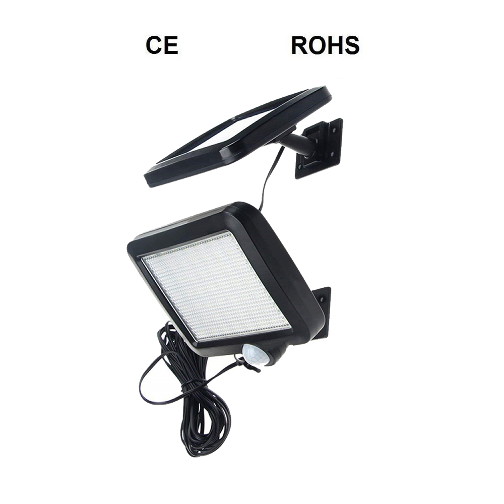 Işıklar ve Aydınlatma'ten Güneş Lambaları'de Hareket sensörü güneş bahçe lambası güneş lambaları bölünmüş dağı İnsan vücudu indüksiyon güneş duvar sokak spot bahçe yolu açık kolye title=