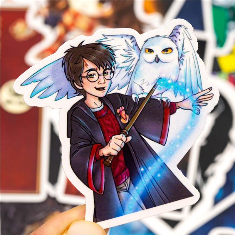 30PCS HP Harry Stickers Set 9 3/4 Classic Movie Collection Vsco Girl Things Waterproof Laptop Skateboard Luggage Scrapbooking