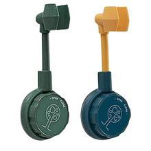 Universal 360° Adjustable Bathroom Shower Head Holder Suction Cup Holder Full Plating Shower Rail Holder Bathroom Accessories