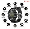 EX16S Смарт часы IP67 Водонепроницаемый для мужчин Спорт Сигнализация долгого ожидания камуфляж ремни Военная униформа для Xiaomi samsung Apple iPhone 8 X