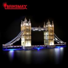 BriksMax Led Light Kit For 10214 Creator London Tower Bridge Toys Building Blocks Model Lighting Set ONLY