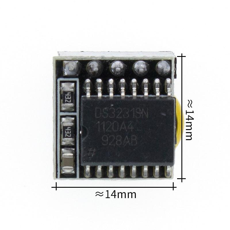 DS3231 Модуль часов в режиме реального времени для arduino 3,3 V/5 V с батареей для Raspberry Pi - Цвет: Mini DS3231 module