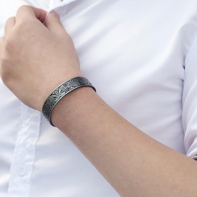 Bracelet de santé arbre de vie chance noeud Runes 2