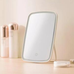 Image 4 - XIAOMI makyaj aynası LED kozmetik ayna dokunmatik Dimmer anahtarı ile pil kumandalı standı masa üstü banyo yatak odası seyahat