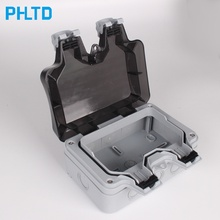 Розетка для наружного питания, водонепроницаемая настенная розетка 86 типов, водонепроницаемый выключатель питания, водонепроницаемая крышка