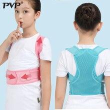 Children Adjustable Posture Corrector Back Support Belt Kids