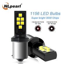 Nlpearl 2x сигнальная лампа 1156 p21w светодиодный ba15s bau15s