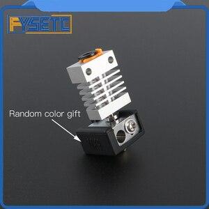 Image 4 - Cr10 dissipador de calor todo o metal hotend kit atualização para CR 10 Ender 3 impressoras micro suíço cr10 hotend titânio disjuntor garganta