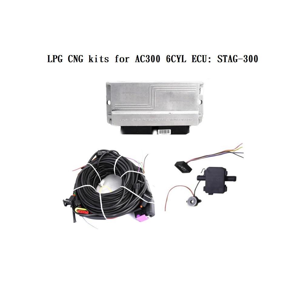 Kits gnc gpl pour AC300 6CYL ECU: cerf-300 ISA2