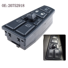 Free shipping 20752918 21543897 New Master Control Window Switch For Volvo Truck FH12 FM VNL 21277587 20568857 20452017