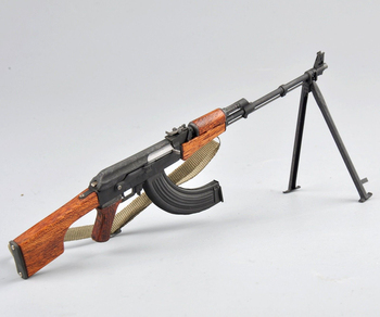 1/6 Scale WWII VSoviet RPK machine guns Rifle Model Weapon Toys For Action Figure Accesssories
