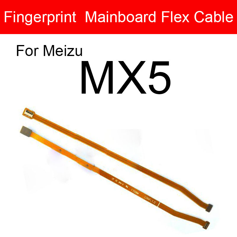 Home Button Fingerprint Connect Motherobard Main Board Flex Cable For Meizu MX5 Flex Ribbon Replacement Parts