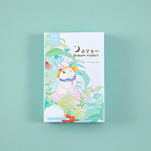 L195- Dream Rabbit Paper Greeting Card Lomo Card(1pack=28pieces)