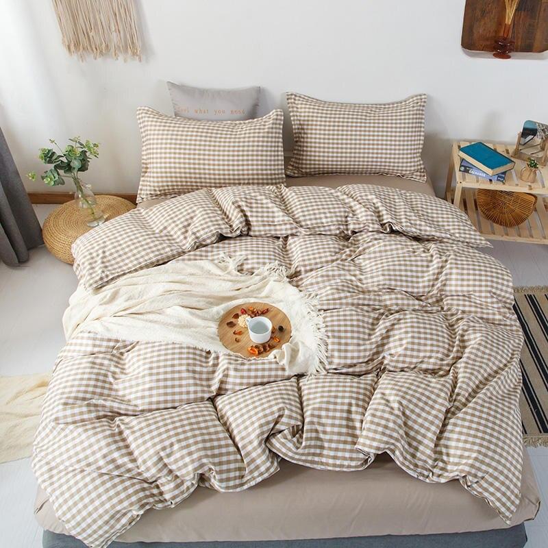 Набор пододеяльников с постельным бельем, Одноместный/Королевский размер, комплект постельного белья для двуспальной кровати