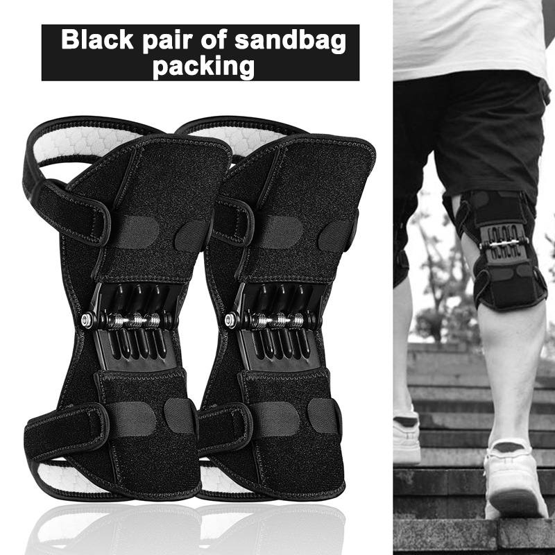 Joint Support Knee Breathable Adjustable Non-Slip Climbing Elderly Outdoor Activities Hiking Rebound Spring Force Knee Booster
